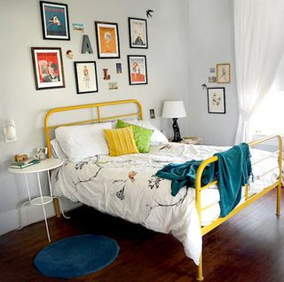 Break out the Rollers Colorfully Painted Furniture  Apartment Therapy DC