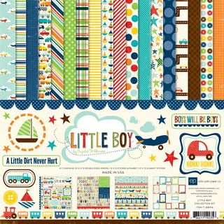 Little Boy 12X12 Collection Kit